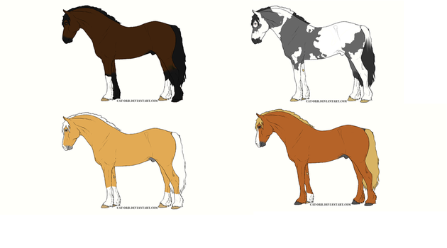 Welsh Cob Adoptables Closed by CedarValleyStables