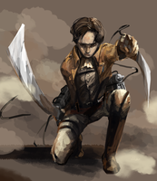 Levi by Lhax