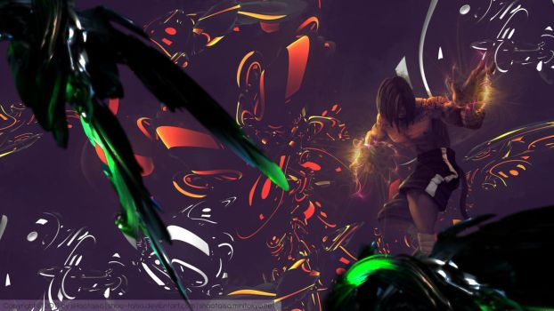 [LoL] Wallpaper - Lee Sin by sHao-taisa