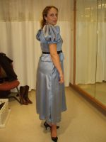Miss Lonely Hearts side view by thecostumedesigner