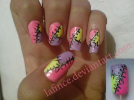 wicked nail art by lafince