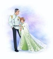 Voltron ART Collab: Shiro and Katie by AtreJane