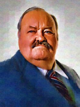 William Conrad by peterpulp