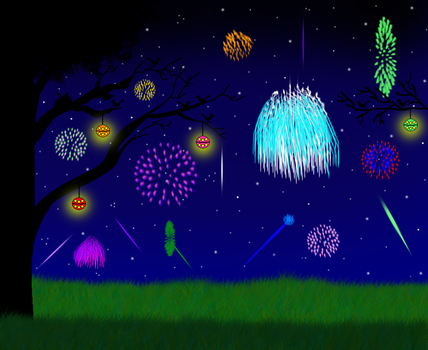 Fireworks works for a real celebration! by CutiePieLittleMe