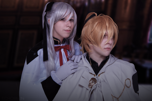 Ferid and Mika by cosplay33