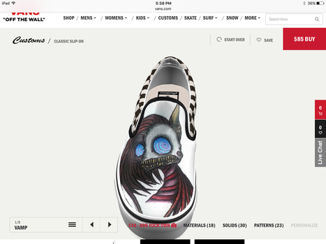 I want this shoe! by Scratcheteer