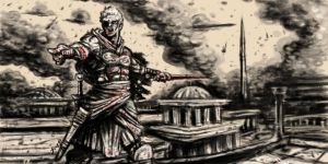 Spartacus taking Rome by joaquingodoy