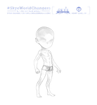 [Skye: Endless Realm] - Male Avatar Template by muddymelly