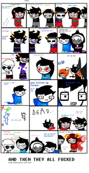 homestuck will end like this by giggity34