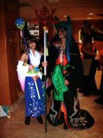 NDK 2011 Yuna and Seymour by AutumnEmbers