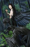 Crow Queen by afromation