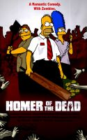 Homer Of The Dead by Claudia-R