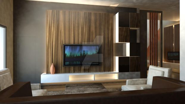 Living Area View 01 by faerhann