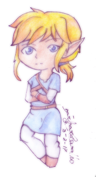 [FANART] Link breath of the wild chibi by Aiko-Hirocho