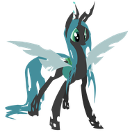Queen Chrysalis by Nowler