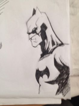 Batman sketch by Farlatattoo