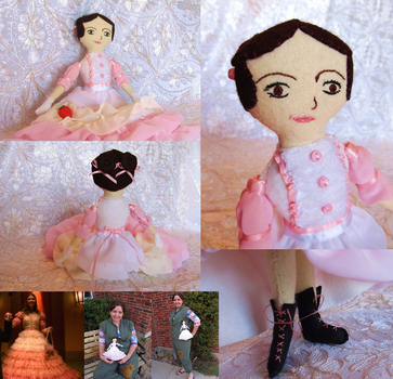 Firefly - Kaylee Shindig doll by Charis
