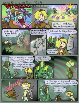 Crossover:When Riven meets Rylai - Part 4 by phsueh