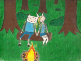 Finn and Fionna by AlexisM96