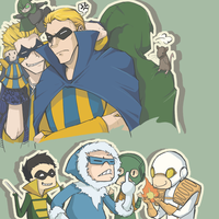 Flash Rogues by RottenDeadpan