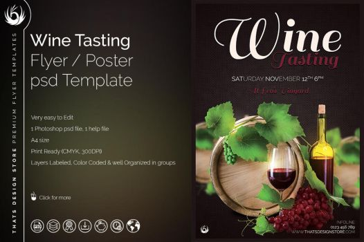 Thats design 39 s deviantart gallery for Wine tasting journal template