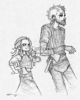 Floki and Angrboda by CaptBexx
