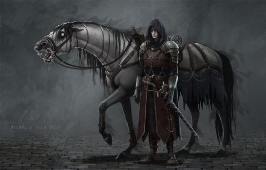 Lord Depression and Nightmare by Manweri