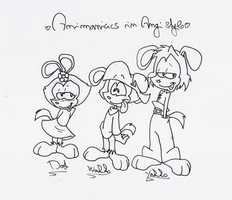 Animaniacs in Angi style by Angi-Shy