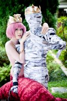 Cosfest X.1 Osiris Isis by SilentCircus90
