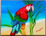 Tropical Parrot by ArT-Walker