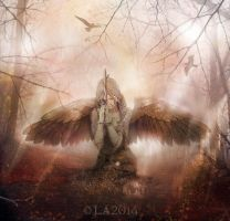 angel of faith by L-A-Addams-Art