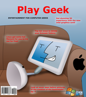 Play Geek magazine cover(fake) by Windows7StarterFan