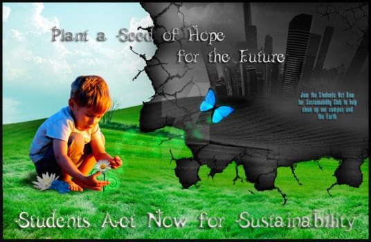 Sustainabilty Poster by crystalbtrfly07