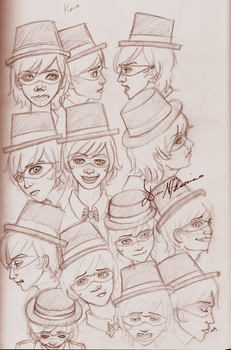 The Many Faces of Kane by SkeletalWings