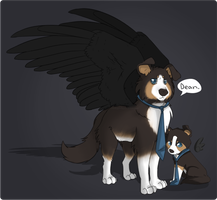 Castiel canine reference by thelilaro