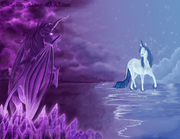 Mystica and Dream by Crickatoo