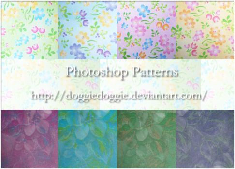 Photoshop Patterns -1 by DOGGIEDOGGIE
