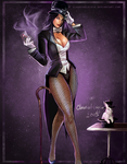- Zatanna (Commission) by ClaudiaAloisia