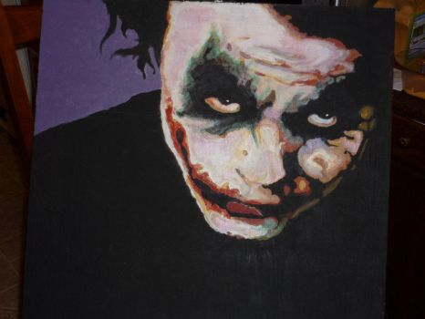 Why So Painting Cliche by kcmp-sewer-sludge