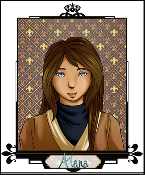 [I.A.S] Alana Weapons Ticket by Pandarax