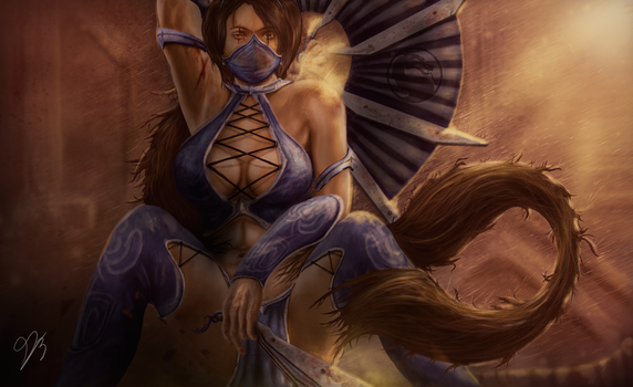 Mortal Kombat Kitana by Dragenlife
