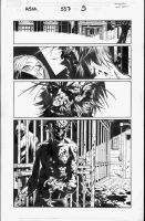 Amazing Spider-Man 557, pg5 by MarkIrwin