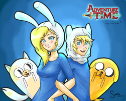 Finn and Fionna by Seatha