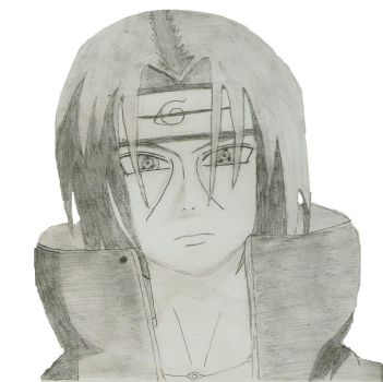 Itachi by CrowsBloodxItachi