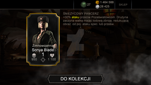 I got Kold War Sonya Blade by RayMcCall-ErronBlack