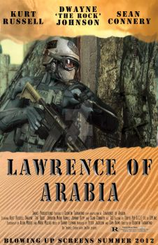 Lawrence of Arabia - Poster 1 by SurfTiki