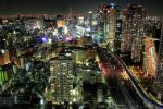 Downtown Lights 10854467 by StockProject1