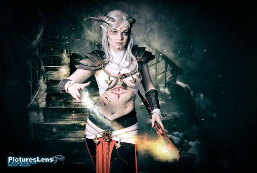Rassan Dragon Age Cosplay by The-Levia