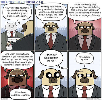 The Adventures of Business Cat - Coup de Grace by tomfonder