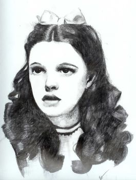 Judy Garland 'Dorothy' by nosprouts